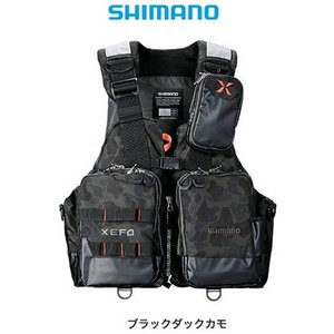 シマノ ゼフォー (XEFO) アクトゲームベスト VF-274R ブラックダックカモ 2XL(3L)サイズ (O01) (S01)