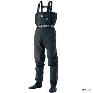 シマノ ゼフォー (XEFO) ドライシールド・ストッキングウェーダー WA-224J ブラック Mサイズ (送料無料) (O01) (S01) (年末感謝セール対象商品)|tsuribitokan-masuda