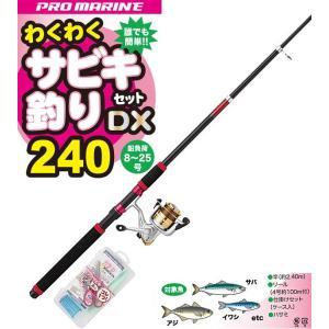 プロマリン わくわくサビキ釣りセットDX 240 / SALE (O01) (セール対象商品) tsuribitokan-masuda