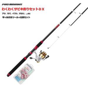 プロマリン わくわくサビキ釣りセット DX 300 (セール対象商品) tsuribitokan-masuda