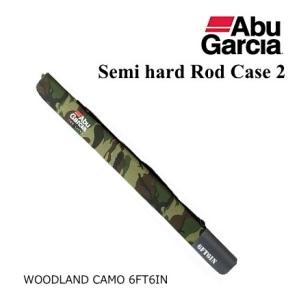 アブ ガルシア セミハード ロッドケース2 ウッドランドカモ 6'6|tsuribitokan