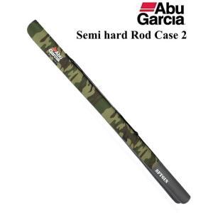 アブ ガルシア セミハード ロッドケース2 ウッドランドカモ 8'6|tsuribitokan