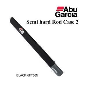 アブ ガルシア セミハード ロッドケース2 ブラック 6'6|tsuribitokan