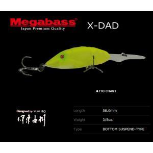 メガバス X-DAD ITO CHART / メガバスルアー