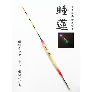 電気ウキ マルシン漁具 EL 睡蓮 (すいれん)  3B / SALE10 (メール便可)|tsuribitokan