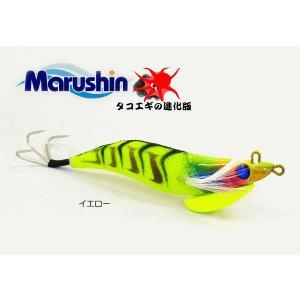 マルシン漁具 タコエギ レッツライド 4.0号 イエロー / 蛸餌木 / SALE tsuribitokan