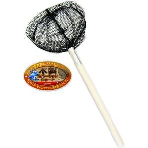 マルシン漁具 木製ラバーネットショート / SALE10