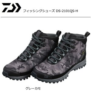 ダイワ フィッシングシューズ DS-2101QS-H グレーカモ 28cm|tsuribitokan