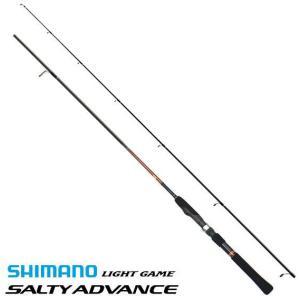 シマノ ソルティーアドバンス ライトゲーム S706UL-S / アジング メバリング ロッド|tsuribitokan