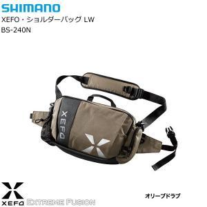 シマノ ゼフォー ショルダーバッグ LW BS-240N オリーブドラブ [お取り寄せ商品] tsuribitokan