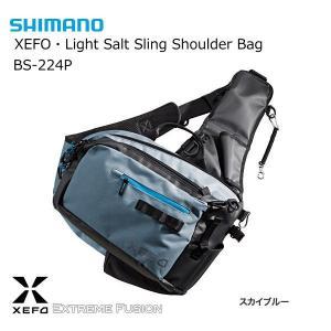 シマノ ゼフォー ライトソルト スリング ショルダーバッグ BS-224P スカイブルー tsuribitokan