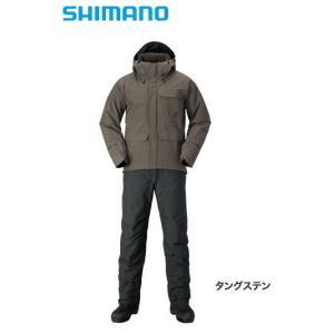 シマノ XEFO GORE-TEX(R) COZY SUIT RB-214Q タングステン Mサイズ / 防寒着 tsuribitokan