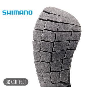 シマノ ジオロック 3Dカットフェルトソールキット(中割) KT-015K グレー|tsuribitokan