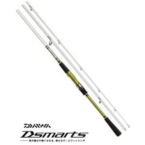 投げ竿 ダイワ ディースマーツ 663XUL-S / アジング メバリング ロッド [お取り寄せ商品]|tsuribitokan