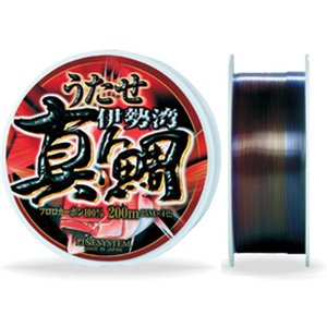 ラインシステム/LINE SYSTEM  うたせ真鯛 フロロカーボン 6号-200m 4色カラー (UTASE-MADAI FULORO)|tsurigu-ten