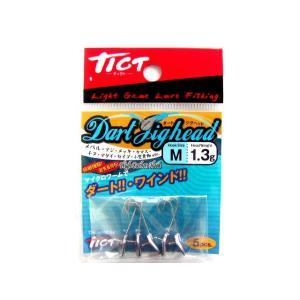ティクト/TICT ダートジグヘッド(Dart Jighead)|tsurigu-ten