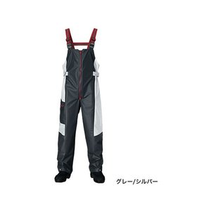 シマノ/SHIMANO RA-03PN マリンサロペット カラー:グレー/シルバー (船釣り専用設計 PU防水加工パンツ)|tsurigu-ten