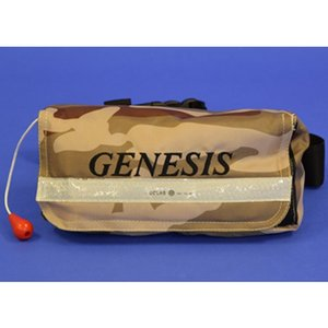 ジェネシス/GENESIS FV-1044 自動膨張式救命具 ウエストポーチタイプ (ライフジャケット)|tsurigu-ten