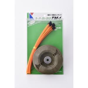 【在庫処分】草刈り用ナイロンコード ヘッダー付きカットコード 12本入 径3mm / 200mm|tsurigunet