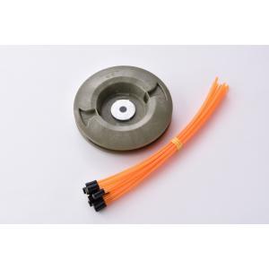 【在庫処分】草刈り用ナイロンコード ヘッダー付きカットコード 12本入 径3mm / 200mm|tsurigunet|04