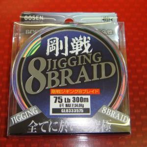 剛戦ジギング8ブレイド 6(75LB) 300m|tsurigunodaishin