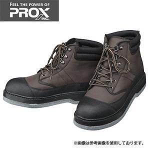 PROX プロックス ウェーディングシューズ(フェルト底) ダークブラウン Mサイズ PX505M