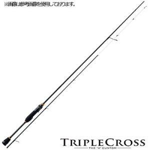 メジャークラフト トリプルクロス ライトゲーム メバル ソリッドティップモデル TCX-S762UL スピニング