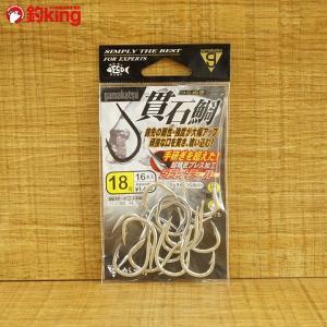 がまかつ 貫 石鯛 18 針 フック 新品|tsuriking