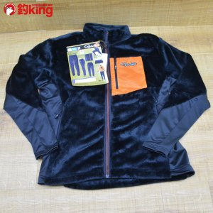がまかつ ボアフリースジャケット GM-3526 ブラック LL/L468M ウェア 未使用品|tsuriking