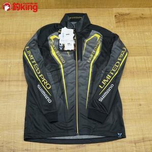 シマノ WT-℃ フルジップリミテッドプロシャツ SH-011P Lサイズ/P046M 未使用品 フィッシングスーツ|tsuriking