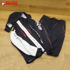 釣武者 2ファイブ レインスーツ サイズL/Q613M フィッシングウェア 石鯛 美品|tsuriking