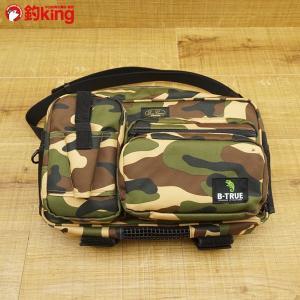 エバーグリーン B-TRUE バンクスタイルヒップバッグ/S491M フィッシングバック 美品|tsuriking