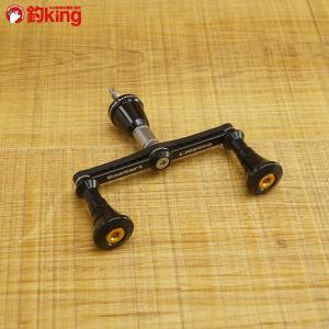 バサート カーボンダブルハンドル 85mm シマノ用/T289S スピニングリール カスタムハンドル 美品|tsuriking