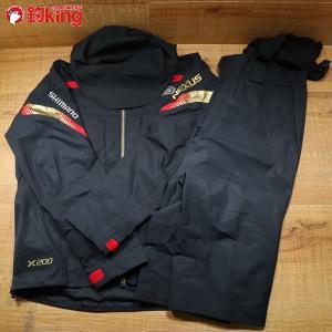 シマノ ネクサス・X200 プロテクティブスーツ RT-124N 2XL/Y272M 美品 SHIMANO 釣り ウェア 洋服 防寒 ジャケット スーツ フィッシング|tsuriking