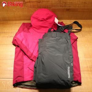 シマノ ゴアテックス ベーシックウォームスーツ RB-017R XL/Y273M 未使用 SHIMANO 釣り ウェア 洋服 防寒 ジャケット スーツ フィッシング|tsuriking