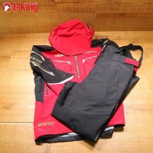 シマノ ゴアテックス レインスーツ リミテッドプロ RA-112Q XL/Y274M 美品 SHIMANO 釣り ウェア 洋服 防寒 ジャケット スーツ フィッシング|tsuriking