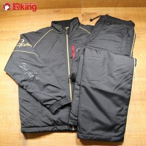 がまかつ ウォームアップスーツ GM-3461 Mサイズ GM-9805 キャップ セット/Y284M 美品 gamakatsu 釣り ウェア 洋服 防寒 ジャケット スーツ フィッシング|tsuriking