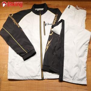 がまかつ ウィンドブレーカースーツ GM-3482 Mサイズ/Y285M 美品 gamakatsu 釣り ウェア 洋服 防寒 ジャケット スーツ フィッシング|tsuriking