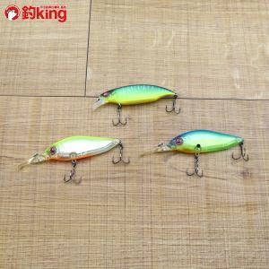 メガバス エルボークランキンシャイナー ダイビングフラップスラップ 3個セット/ST1980SS 美品 釣り バス ミノー ルアー プラグ 淡水 フィッシング|tsuriking
