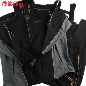 がまかつ ゴアテックス レインスーツ GM-3546 4L /D201M 美品 gamakatsu 釣り ウェア 洋服 防寒 ジャケット スーツ フィッシング|tsuriking