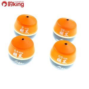 釣研 ブラックスペック 剛黒 オレンジ 0 00 B 2B 4個セット(1)/ST3755S セット品 チヌ クロダイ 黒鯛 フカセ 磯釣り|tsuriking