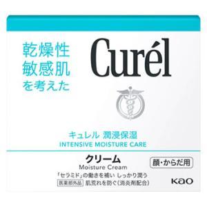花王 キュレル クリーム ジャー 顔・からだ用 (90g) 敏感肌用 ボディクリーム curel 医薬部外品