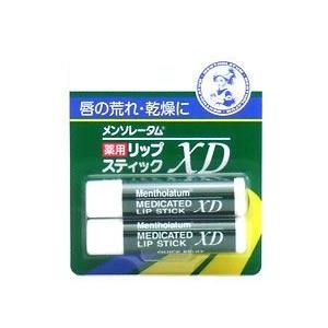 ロート製薬 メンソレータム 薬用リップスティックXD (4.0g×2コ入) 医薬部外品