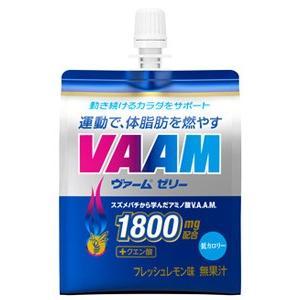 明治 VAAM ヴァームゼリー フレッシュレモン味 (180g)