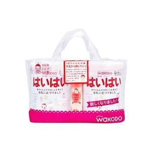 和光堂 レーベンスミルク はいはい 0ヶ月から (810g×2個) 2缶パック おしりふき 50枚入×1個付き|tsuruha