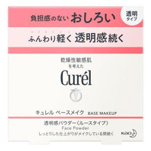 花王 キュレル 透明感パウダー おしろい 透明タイプ (4g) curel|tsuruha