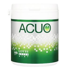 ロッテ ACUO アクオ グリーンミント ファミリーボトル (140g) チューイングガム