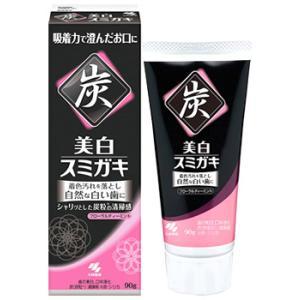 小林製薬 美白スミガキ フルーティーミント (90g) 薬用歯磨き 【医薬部外品】|tsuruha