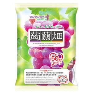 マンナンライフ 蒟蒻畑 ぶどう味 (25g×12...の商品画像
