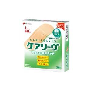ニチバン ケアリーヴ 素肌タイプ Lサイズ CL40L (40枚) 絆創膏|tsuruha